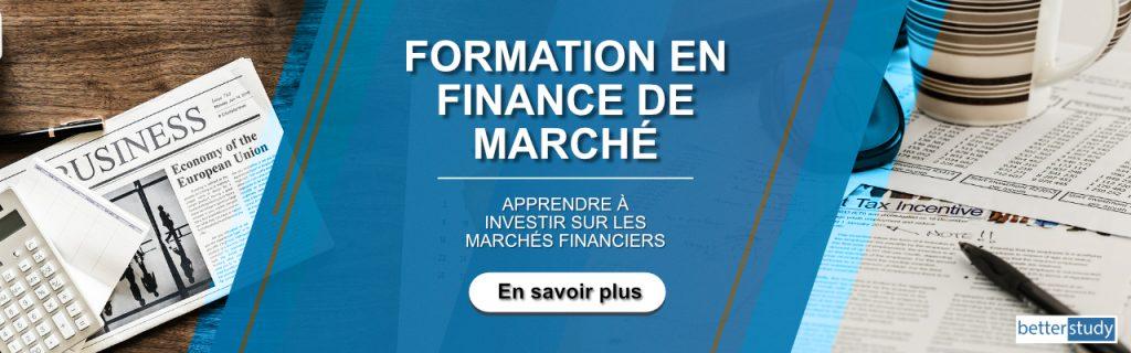 formation finance de marché