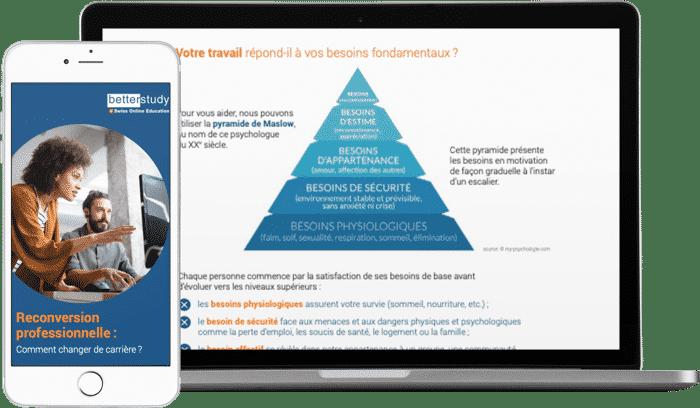 Guide Ultime de la Reconversion Professionnelle - par BetterStudy
