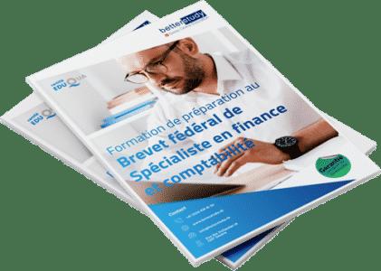 Mockup brochure Brevet Federal en comptabilite